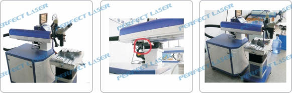 Aluminum Alloy Laser Welding Machine / Small Thermal Strain Key Parts , High Precision