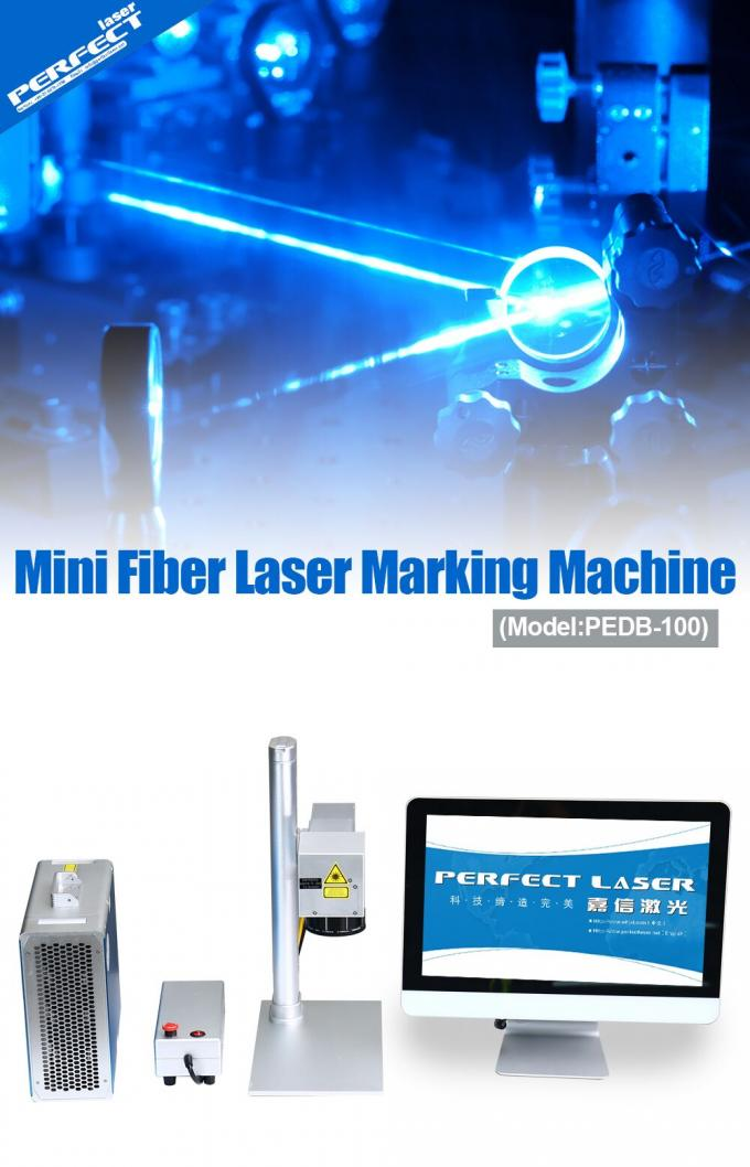 High Precision Mini Laser Marking Machine For Cleaner Taps / Glasses Frame