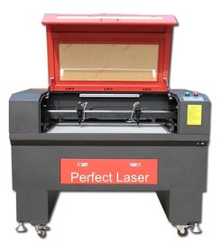 100w Double Heads CO2 Leather Fabric Laser Cutting Machine For Embroidery Industry