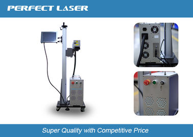 High Speed Laser Marking Machine 10W-20W with galvenometer head , Lifting Type