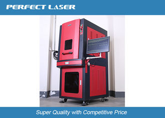Portable Mini Fiber Laser Etching Machine With Safe Fullcolsed Cabinet , CE / ISO