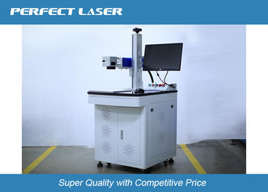 High Speed Fiber Laser Marking Machine For Transparent Glass / Acrylic Materials , 60 Watt