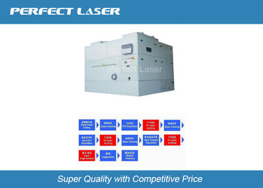 الصين 1064 Nm / 532 Nm Thin Film Laser Scribing Machine With CCD Alignment System المزود