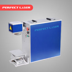 الصين Portable Fiber Laser Marking Machine 10w 20W 30W 50w Free Maintenance المزود