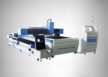 الصين 90 m / min Fiber Laser Cutting Machine For Round Metal Pipe / Sheet Cutting المزود