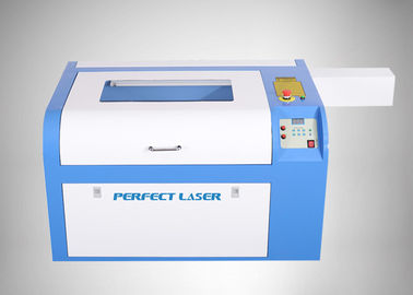 Leather And Glass Co2 Laser Engraver , Co2 Laser Cutting Machine With Water Cooling System