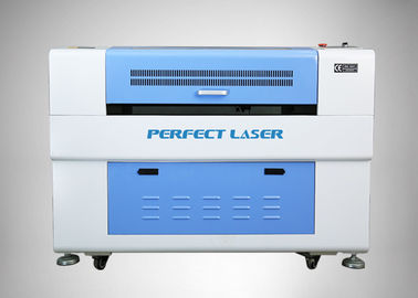 White And Blue Co2 Laser Engraving Machine  For Craft / Plexiglass