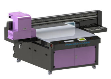 High Speed Multicolor Flatbed UV Printer with 8 Colors Ink System for Glass