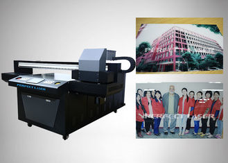 1.5KW Digital UV Flatbed Printing Machine With Epson DX7 For Packaging Design