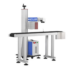 Floor Standing Type Automatic Marking Machine , Pen Laser Engraving Machine For Metal