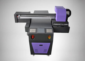 Curable Ink Flatbed UV Printing Machine For Glass / Ceramic / Wood PE-UV0609